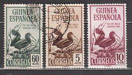 Guinea Correo 1952 Edifil 318/20 O - Spaans-Guinea