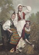 NORWAY , 1890s-1907 ; 3 Women #18 - Norway