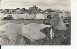 BARFLEUR   Le Ravissant Terrain De Camping  1959 - Barfleur