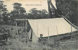 Pays Div-ref W303-oceanie -papouasie Nouvelle Guinée -missions -missions Du Sacré Coeur D Issoudun-camp Brousse - Papua Nuova Guinea