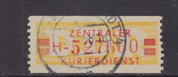 ZKD Wertstreifen Dienstmarken-B Michel Nr. 19 H - Servizio