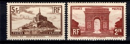 France YT N° 258 Et 260 Neufs ** MNH. TB. A Saisir! - France
