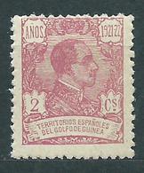 Guinea Sueltos 1922 Edifil 155 ** Mnh - Spanish Guinea
