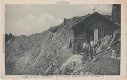 Hautes  Alpes : Vallée  Du  Valgaudemard , Pas De L ' Olan Et  Refuge Du Pas De L ' Olan - Altri Comuni