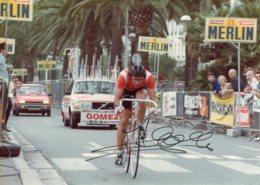 S3350 Photo Cyclisme Marc Gomez Dédicacée - Cycling