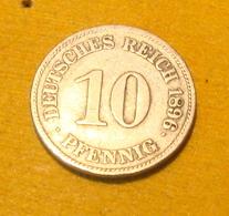 10 Pfennig 1896 E - 10 Pfennig