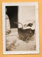Foto Vintage  Bambino In Carrozzina - Other