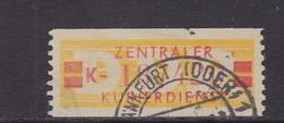 ZKD Wertstreifen Dienstmarken-B Michel Nr. 19 I K - Servizio
