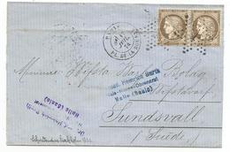 - SEINE - PARIS - Etoile N°1 Spaire Cérès N°56+ Càd Type 17 - 1874 - 1871-1875 Cérès