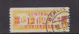 ZKD Wertstreifen Dienstmarken-B Michel Nr. 19 L - Servizio