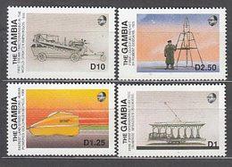 Gambia - Correo 1988 Yvert 746/9 ** Mnh  Transportes - Gambia (1965-...)