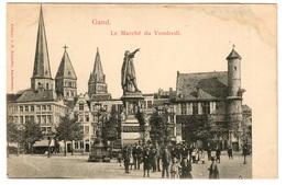 GAND - Le Marché Du Vendredi - Dos Non Divisé - Gent
