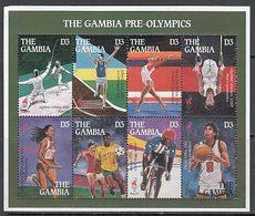 Gambia - Correo 1995 Yvert 1849/56 ** Mnh   Olimpiadas De Atlanta - Gambia (1965-...)