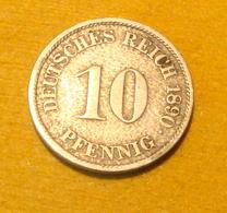 10 Pfennig 1890 J - 10 Pfennig
