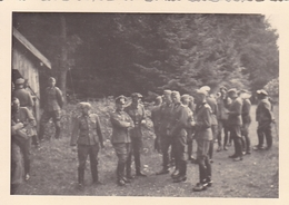 PHOTO ORIGINALE 39 / 45 WW2 FRANCE MEURTHE ET MOSELLE ARRIVÉE DES SOLDATS ALLEMANDS - War, Military
