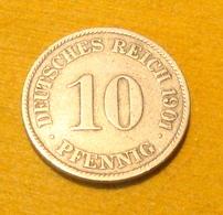 10 Pfennig 1901 J - 10 Pfennig