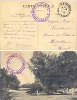 GUERRE 14-18 DÉPOT DE CONVALESCENTS MILITAIRES - St ANDRÉ-DE-SANGONIS HERAULT TàD 1-3-16 - Guerra Del 1914-18