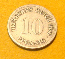 10 Pfennig 1896 F - 10 Pfennig