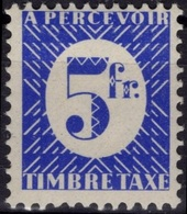 FRANCE COLONIES Emissions Générales Poste 35 ** MNH (CV 5,50 €) France Libre - Postage Due