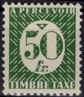 FRANCE Ex COLONIES Emissions Générales Taxe  12 * MLH (CV 7 €) France Libre - Postage Due
