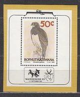 Bophuthatswana - Hojas Yvert 4 ** Mnh  Fauna Aves - Bophuthatswana