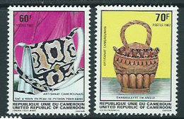 Camerun - Correo Yvert 685/6 ** Mnh  Artesania - Camerún (1960-...)
