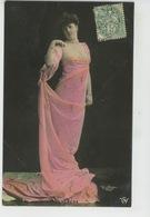 FEMMES - FRAU - LADY - SPECTACLE - ARTISTES - THÉÂTRE - Jolie Carte Fantaisie Portrait Artiste VERENA - Donne