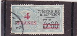 T.F De Dimension N°106 - Revenue Stamps