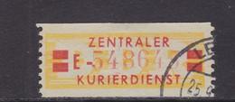 ZKD Wertstreifen Dienstmarken-B Michel Nr. 19 II E - Servizio