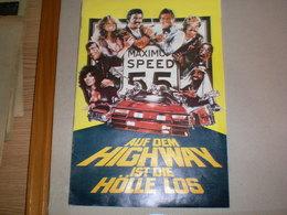 Maximum Speed Auf Dem Highway Ist Die Holle Los - Pubblicitari
