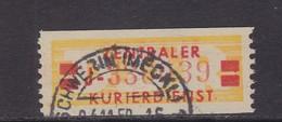 ZKD Wertstreifen Dienstmarken-B Michel Nr. 19 II J - Servizio