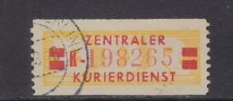 ZKD Wertstreifen Dienstmarken-B Michel Nr. 19 II K - Servizio