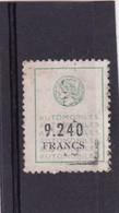 T.F.  Automobile N°105 - Fiscaux