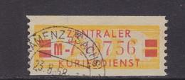 ZKD Wertstreifen Dienstmarken-B Michel Nr. 19 II M - Servizio