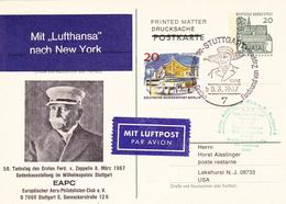 Graf Zeppelin, 50. Todestag, Stuttgart 8.3.1967 - Zeppelins