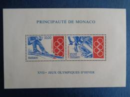 MONACO 1994 BLOC Y&T N° 63 ** - XVIIe JEUX OLYMPIQUES D'HIVER - Ongebruikt