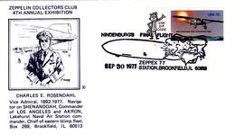 Hindenburg Final Flight, ZEPPEX  '77, Brookfield, IL, 30.9.1977 - Zeppelins