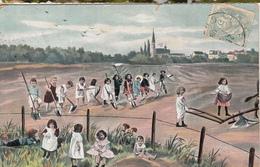 Enfants Dans Les Champs - Escenas & Paisajes