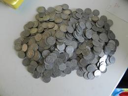 Lot  De  2  Kilos  125 Grammes De   Monnaie  1 Franc En   Aluminium - Monnaies & Billets