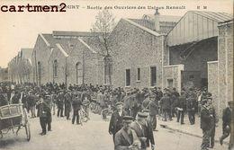 BILLANCOURT SORTIE DES OUVRIERS DES USINES RENAULT 92 - France