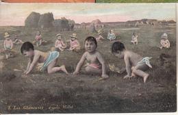 """Bébés """" Les Glaneuses """" D'après Millet - Escenas & Paisajes"""