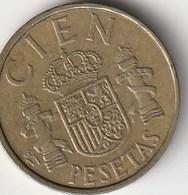 SPAGNA - CIEN PESETAS - 1983 - [ 5] 1949-… : Regno