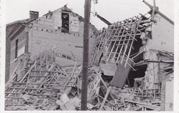 PHOTO ORIGINALE 39 / 45 WW2 ALLEMAGNE AIX LA CHAPELLE / AACHEN MAISONS DETRUITES - War, Military