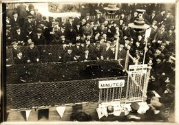 COCK FIGHTING CHAMPIONSHIP AUCHEL FRANCE Pas-de-Calais COMBATS COQS 16*12CM Fonds Victor FORBIN 1864-1947 - Profesiones