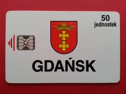 POLAND GDANSK 50 Jednostec CHIP Schlumberger TEST SI4 MINT Loaded 52u Neuve RARE URMET Pologne (BA1219.30 - Pologne