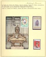 MICHELANGELO TOMBA LORENZO DE MEDICI  + FRANCOBOLLO + FOGLIO COLLEZIONE    FANTASTIC  (NOV190110) - Sculpture