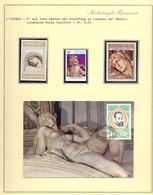 MICHELANGELO L'AURORA  + FRANCOBOLLI + FOGLIO COLLEZIONE    FANTASTIC  (NOV190111) - Sculpture