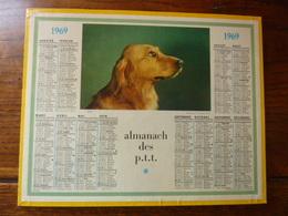 Calendriers ALMANACH Des P.T.T. - 1969 - AMI - Autres