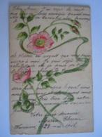 Guirlande De Fleurs Bloemen Art Nouveau Précurseur 1905 Waremme - Blumen