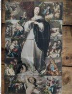 Puzzle. Scène Vierge Marie. 10 Cartes, Toutes Scannées - Virgen Mary & Madonnas